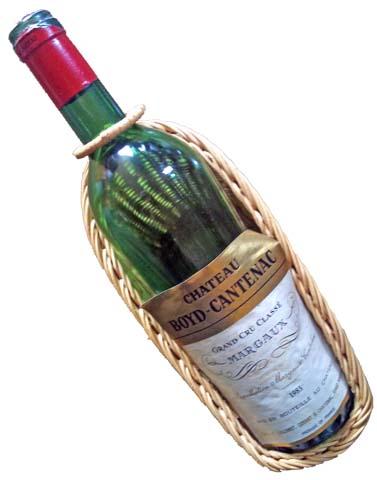 今年のカミさんのバースデーワインはマルゴー格付け第3級Lボイド・カントナック(Boyd-Cantenac)
