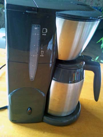 Melitta(メリタ) のコーヒーメーカー、アロマサーモ ステンレス ダークブラウン JCM-561/TD