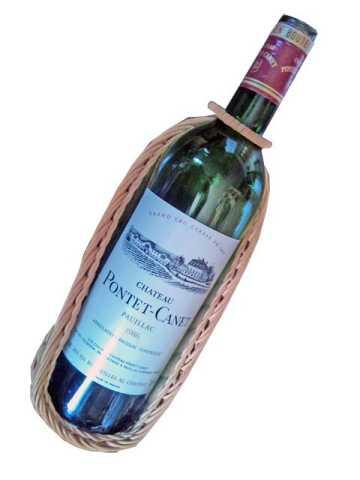 今年カミさんのバースデーワインに選んだのはシャトー・ポンテ・カネ(Chateau Pontet-Canet)1986